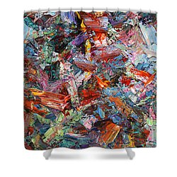 Paint Number 42-a Shower Curtain by James W Johnson