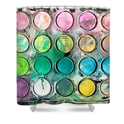Paint Tray Shower Curtain