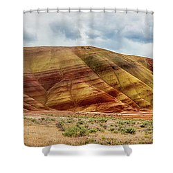 Painted Hills Panorama 2 Shower Curtain