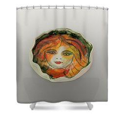 Shower Curtain featuring the photograph Painted Lady-1 by David Coblitz