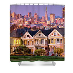 Painted Lady's  Shower Curtain