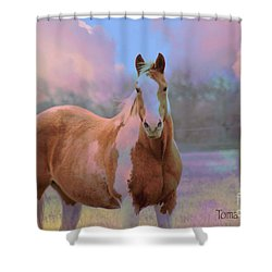 Painted Naturally Shower Curtain