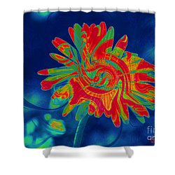 Paisley Gerber Shower Curtain