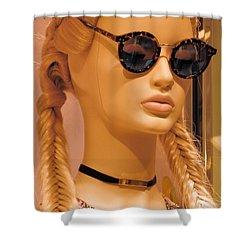 Paiute Style Shower Curtain