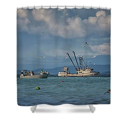Pakalot Shower Curtain by Randy Hall