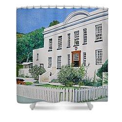 Palace Barracks Shower Curtain by Tim Johnson