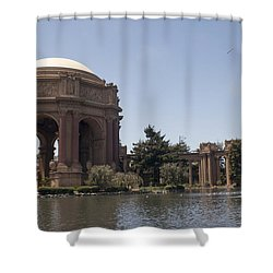 Shower Curtain featuring the photograph Palace Of Fine Art by Ivete Basso Photography