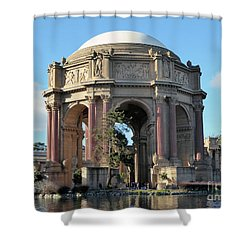 Shower Curtain featuring the photograph Palace Of Fine Arts by Steven Spak