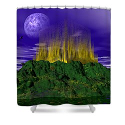 Palace Of The Moon Shower Curtain by Mark Blauhoefer