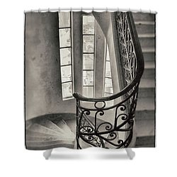 Palacio Barolo Stairs Buenos Aires Shower Curtain by For Ninety One Days