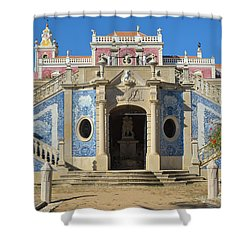 Palacio De Estoi Front View Shower Curtain