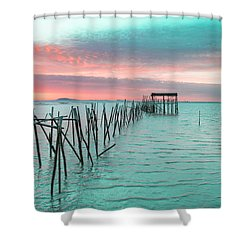Palafitico 01 Shower Curtain