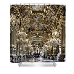 Palais Garnier Grand Foyer Shower Curtain