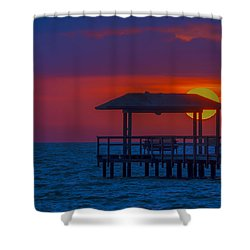 Palapa Del Sol Shower Curtain