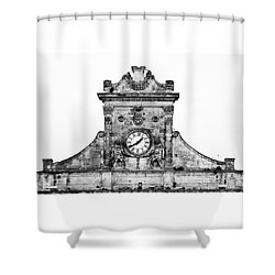 Palazzo Municipale Shower Curtain