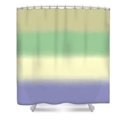 Pale Iris - Sq Block Shower Curtain