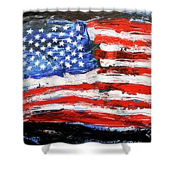 Palette Of Our Founding Principles Shower Curtain