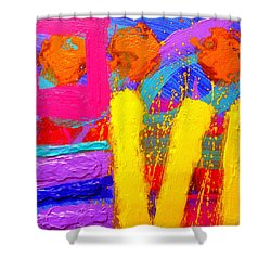 Palimpsest Ix Shower Curtain by John  Nolan