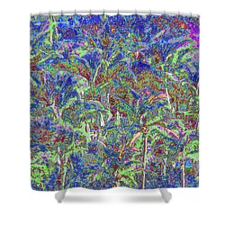 Palm 1010 Shower Curtain