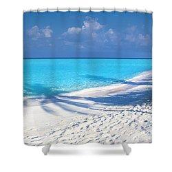 Palm Escape -  Part 3 Of 3 Shower Curtain