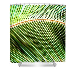 Palm Frond Sway Shower Curtain