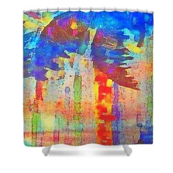 Palm Party Shower Curtain