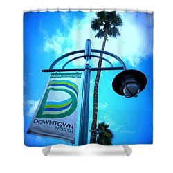 Palm Springs North Shower Curtain