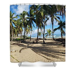 Palm Tree Family Shower Curtain