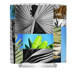Palm Tree Parts Shower Curtain