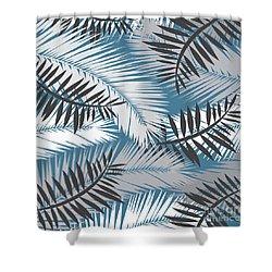 Palm Trees 10 Shower Curtain by Mark Ashkenazi