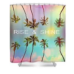 Palm Trees Shower Curtain