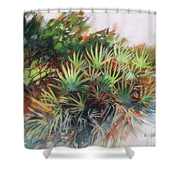 Palmetto Dance Shower Curtain