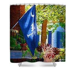 Palmetto Flag Shower Curtain