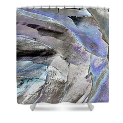 Layered Colors Shower Curtain