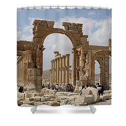 Palmyra Before...triumphal Arch Shower Curtain