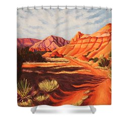 Palo Duro Canyon Shower Curtain