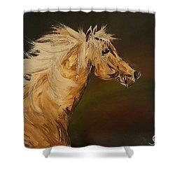Palomino Running Wild                     85 Shower Curtain