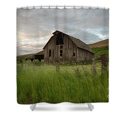 Palouse Barn Spring Shower Curtain