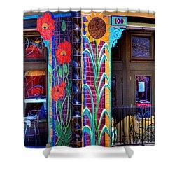 Palouse Cafe Shower Curtain by David Patterson
