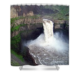 Palouse Falls - The Official Washington State Waterfall Shower Curtain
