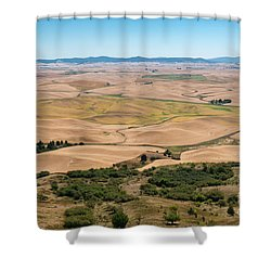 Palouse I Shower Curtain