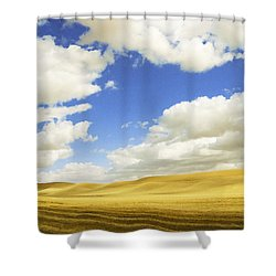 Palouse Valley Shower Curtain