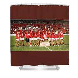 Pamam Games. Mens' 7's Shower Curtain