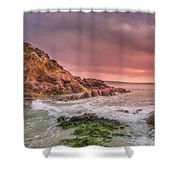 Pambula Rocks Shower Curtain
