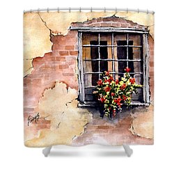 Pampa Window Shower Curtain