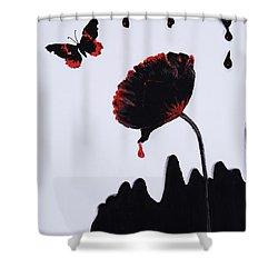 Pan Is Dead Shower Curtain by Stanza Widen