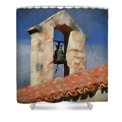 Panagia Kera Shower Curtain