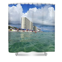 Panama City Beach Florida - II Shower Curtain