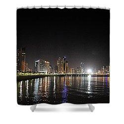 Panama City Night Shower Curtain