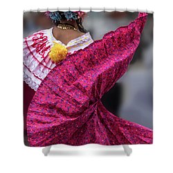 Panamanian Dancer 2 Shower Curtain